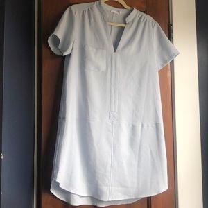 Lush light blue a-line dress
